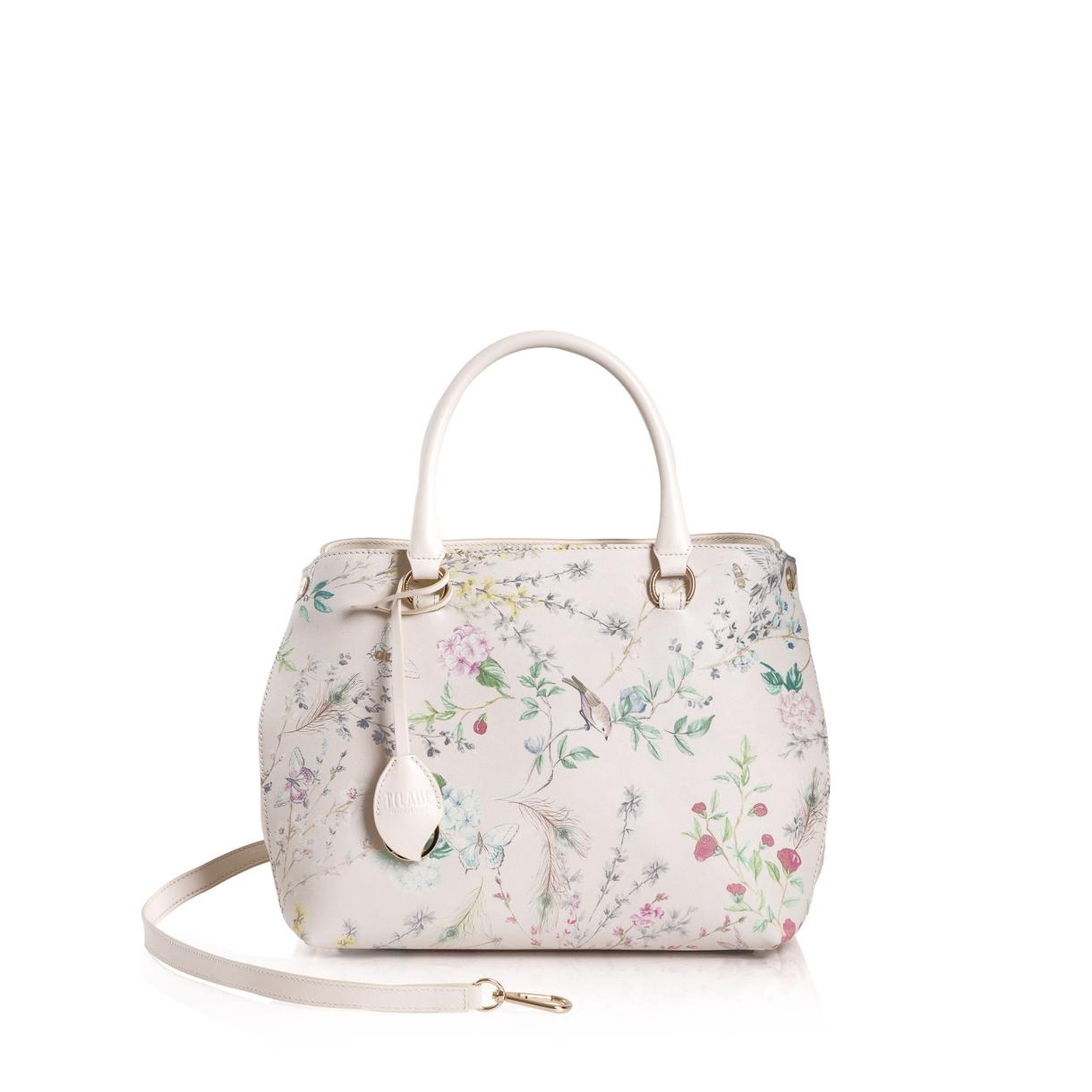 c89c1ba96fc Бяла чанта с природни мотиви - Seliton 10 Демо Магазин